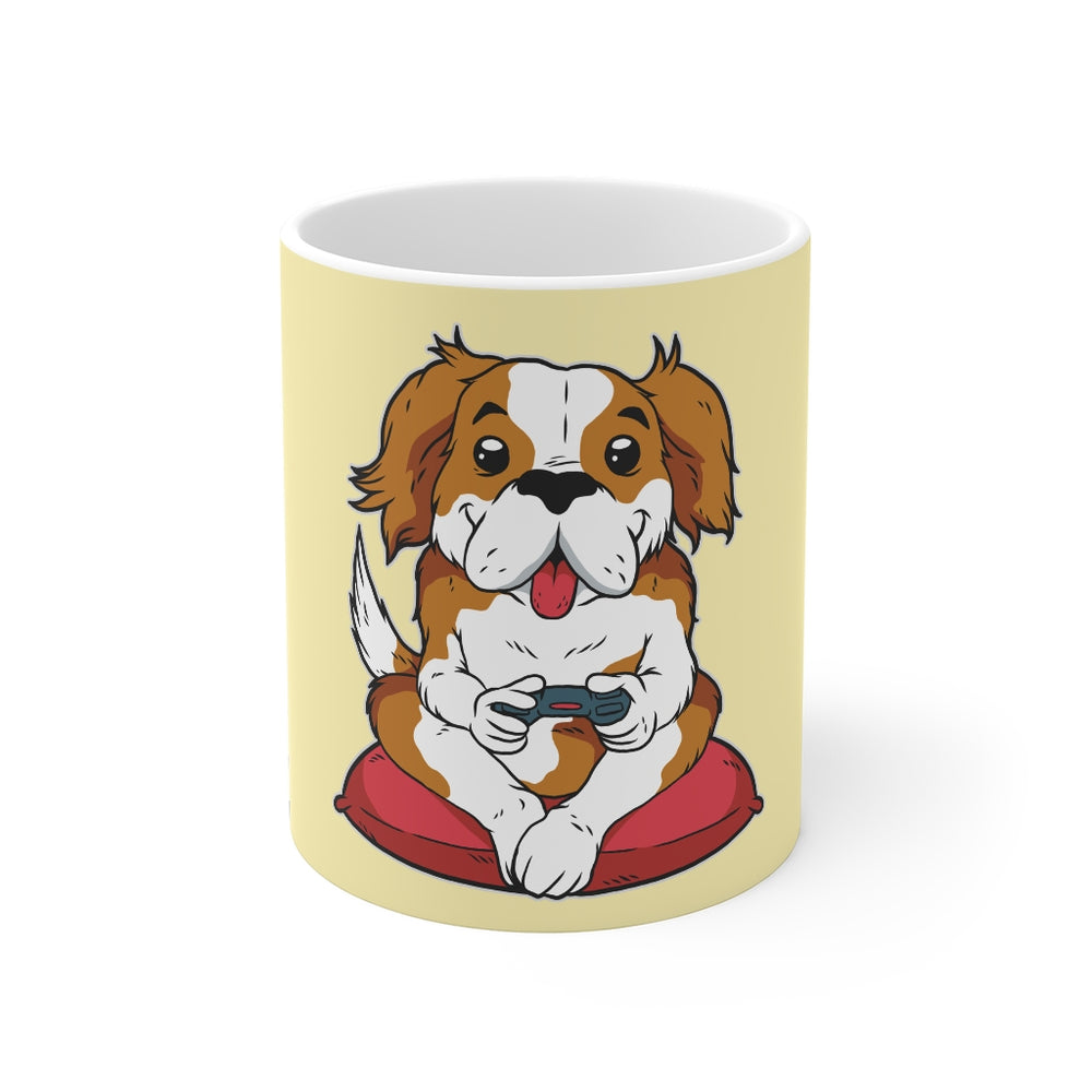 Gamer Coffee Mug | Gamer Dog | Gamer Coffee Mug | sumoearth 🌎
