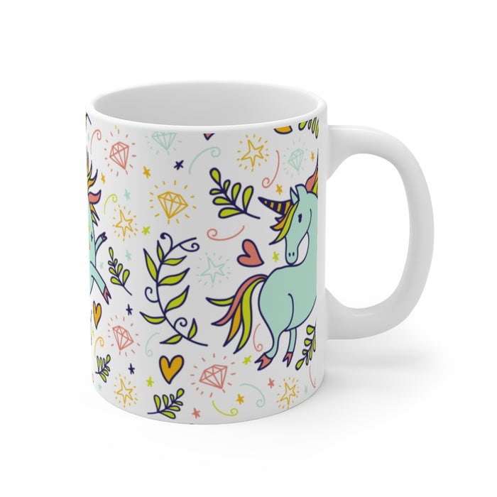 Unicorn Coffee Mug | Unicorn Coffee Mug - Happy Unicorn | sumoearth 🌎