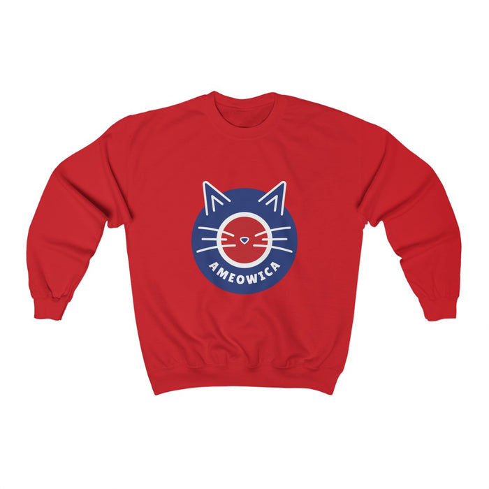 4th of July Unisex Sweatshirts | Ameowica Unisex Sweatshirt | sumoearth 🌎