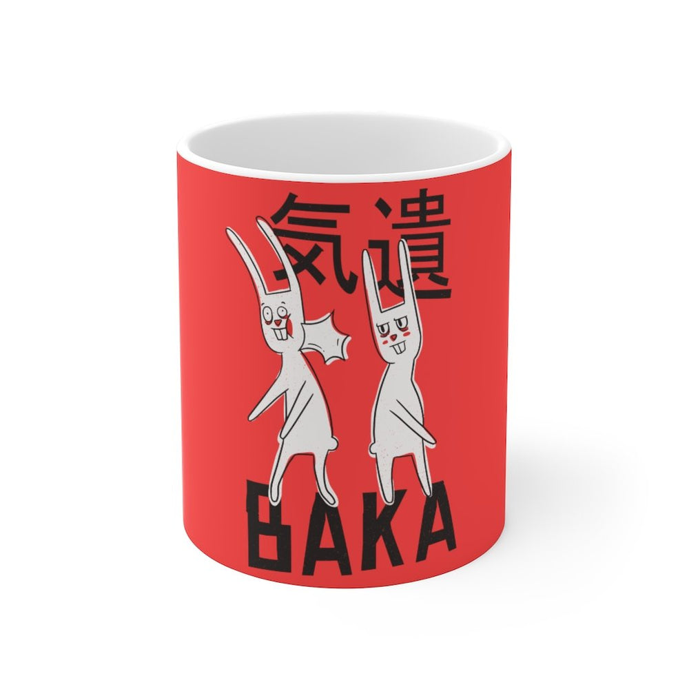 Anime Coffee Mug | Anime Coffee Mug - Baka | sumoearth 🌎