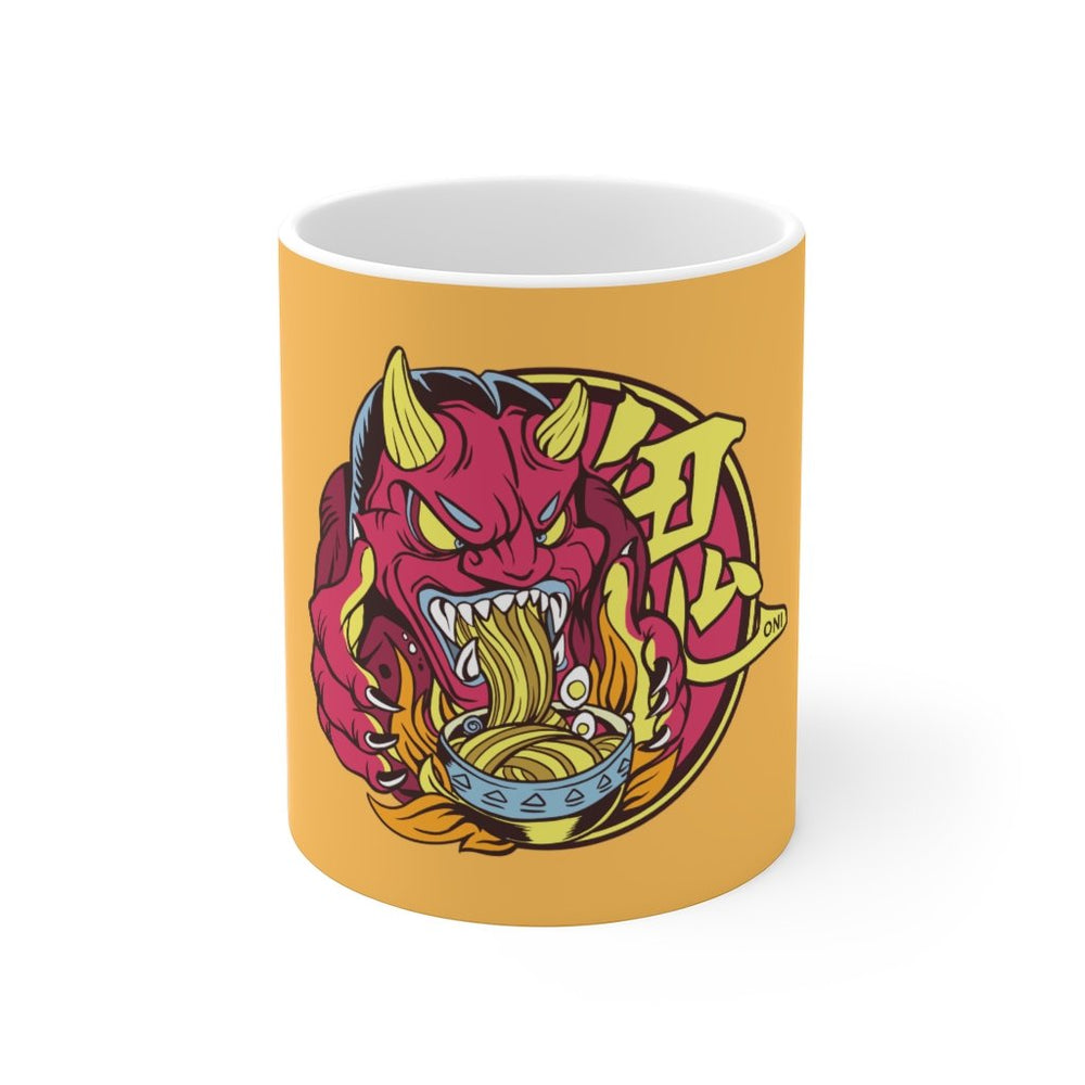 Anime Coffee Mug | Anime Coffee Mug - Oni Ramen | sumoearth 🌎