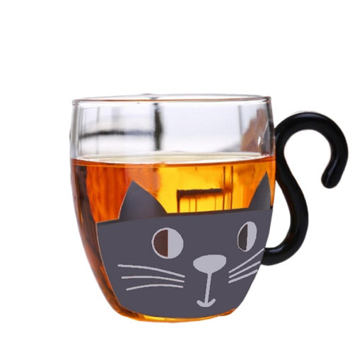 Cat Drinkware | sumoearth Cat Mug with Tail Handle | SumoEarth