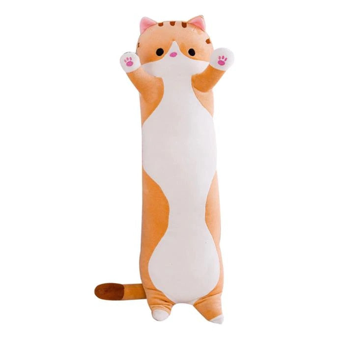 Cat Plush | Bubbles the Snuggle Kitty Cat Plush Body Pillow | sumoearth 🌎