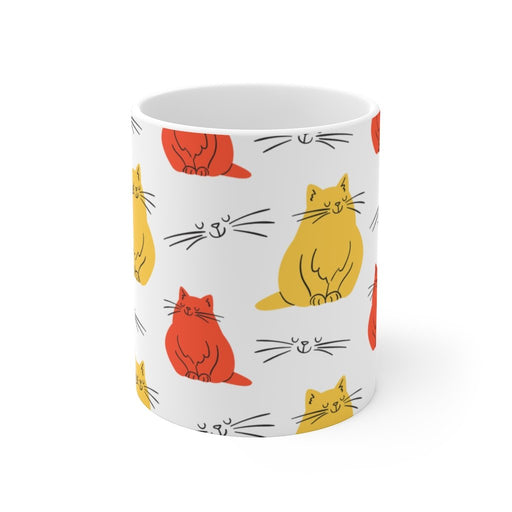 Cat Coffee Mug | Abstract Cat | Cat Coffee Mug | sumoearth 🌎