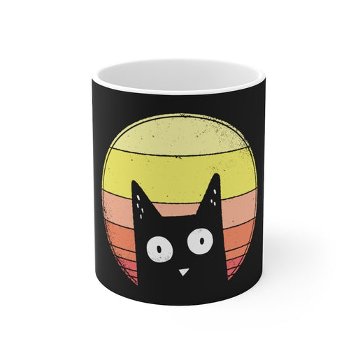 Cat Coffee Mug | Black Cat Coffee Mug | sumoearth 🌎