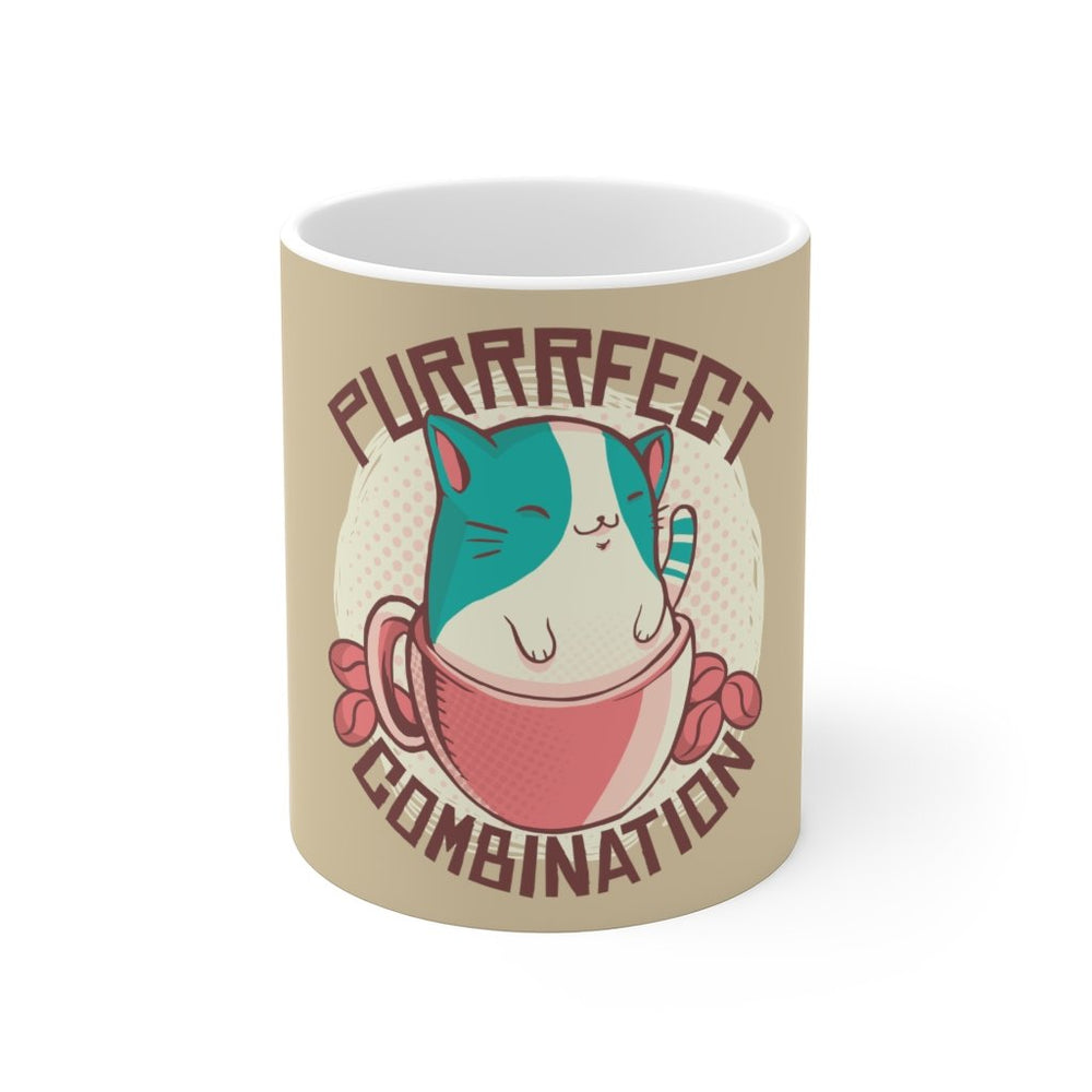 Cat Coffee Mug | Purfect Combination | Cat Coffee Mug | sumoearth 🌎
