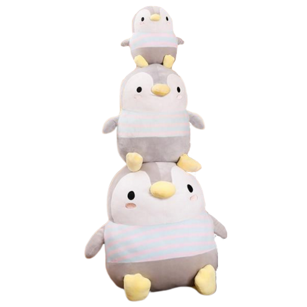 Penguin Plush | Chubby the Giant Penguin Plush Toy - Penguin Stuffed Animal | sumoearth 🌎