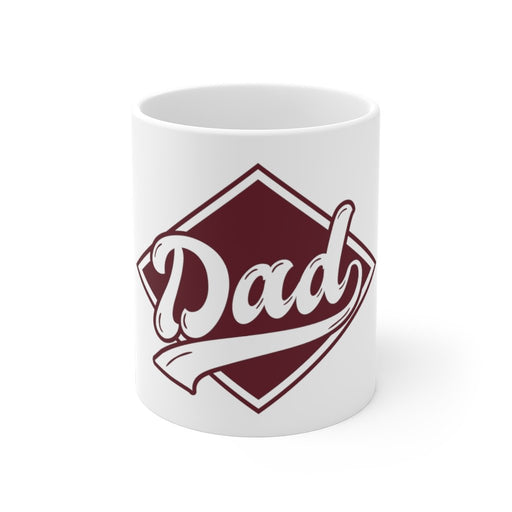 Dad Coffee Mug | Dad Coffee Mug - Dad Badge | sumoearth 🌎