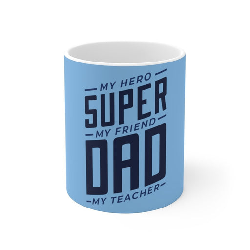 Dad Coffee Mug | Dad Coffee Mug - Super Dad | sumoearth 🌎