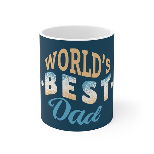 Dad Coffee Mug | Dad Coffee Mug - World's Best Dad | sumoearth 🌎