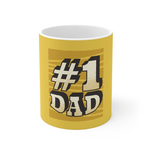 Dad Coffee Mug | Dad Coffee Mug - #1 Dad | sumoearth 🌎