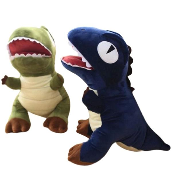 Dinosaur Plush | Eddy the Cute T-Rex Dinosaur Plush Toy with Pocket | sumoearth 🌎