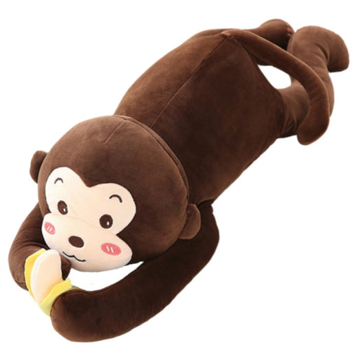 Eddy the Hanging Monkey Plush Toy with Banana - sumoearth