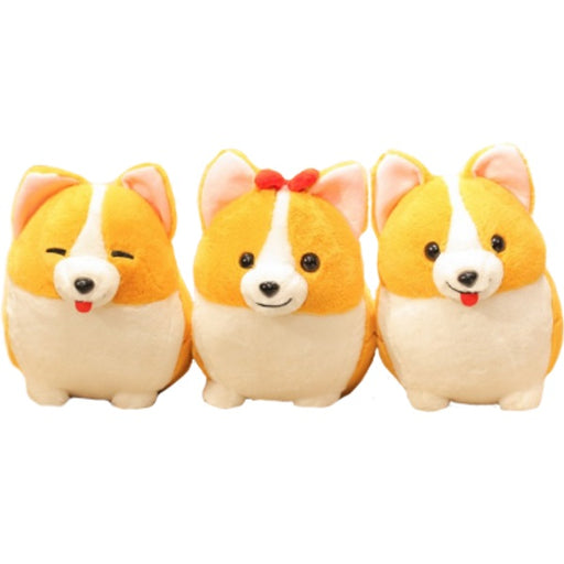 Corgi Plush | Familia the Fat Stuffed Corgi Plush Toy | SumoEarth