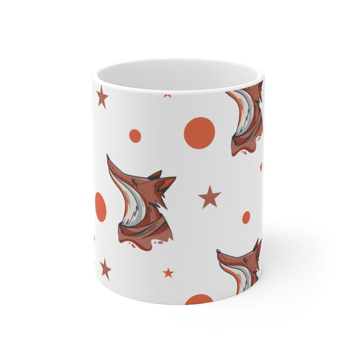 Fox Coffee Mug - Bright Night - sumoearth