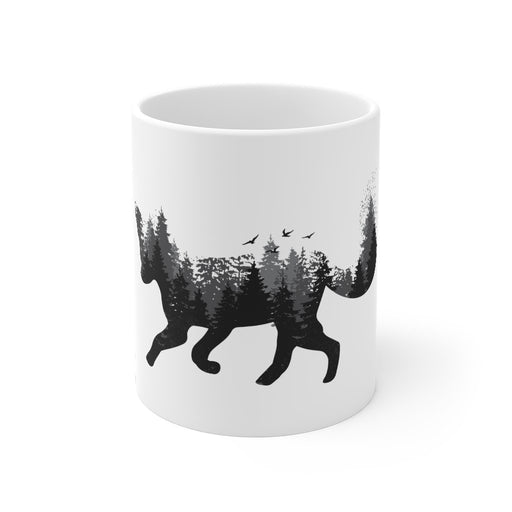 Fox Coffee Mug - Forest Fox - sumoearth