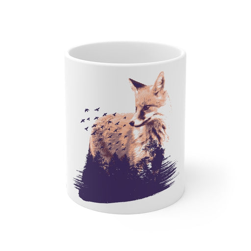 Fox Coffee Mugs | Fox Coffee Mug - Nature | sumoearth 🌎