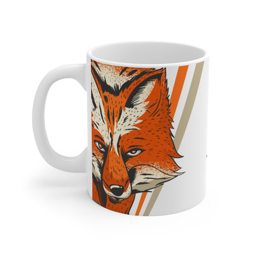 Fox Coffee Mug - The Hunt - sumoearth