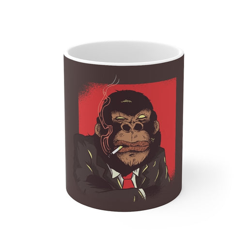 Gorilla Coffee Mug - The Boss - sumoearth