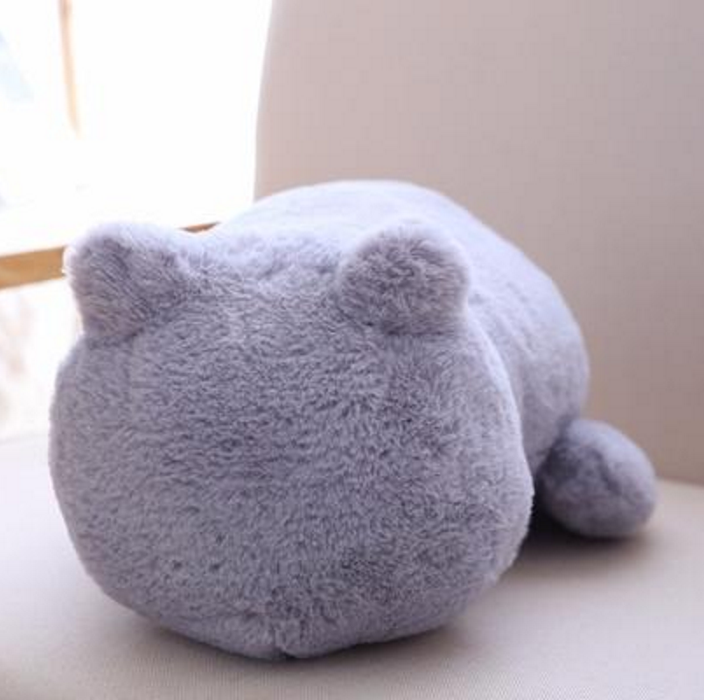Cat Plush | Soft Stuffed Cat-Shaped Plush Pillow | sumoearth 🌎