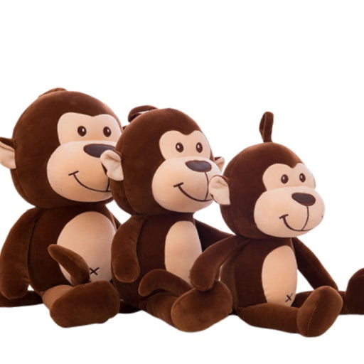 Monkey Plush | Louie the Soft Monkey Stuffed Animal Plush Toy | SumoEarth