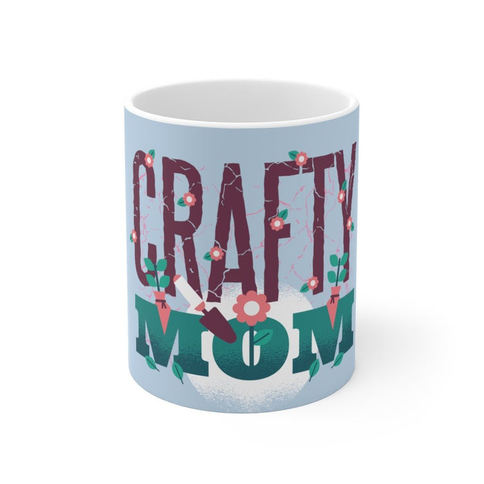 Mom Coffee Mug | Mom Coffee Mug - Crafty Mom | sumoearth 🌎
