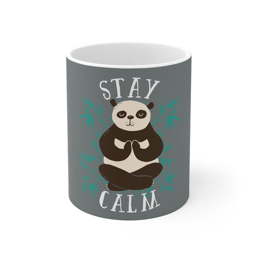 Panda Coffee Mug - Stay Calm - sumoearth