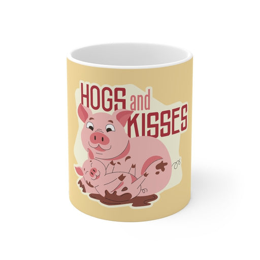 Pig Coffee Mugs | Pig Coffee Mug - Hogs and Kisses | sumoearth 🌎