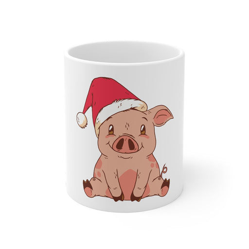 Pig Coffee Mugs | Pig Coffee Mug - Merry Pigmas | sumoearth 🌎