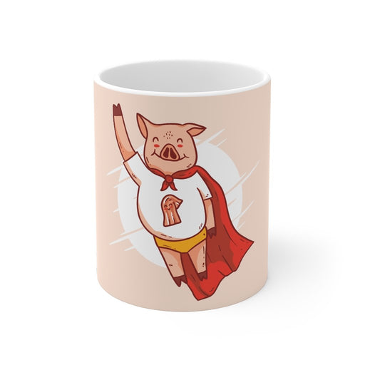 Pig Coffee Mugs | Pig Coffee Mug - Superpig | sumoearth 🌎