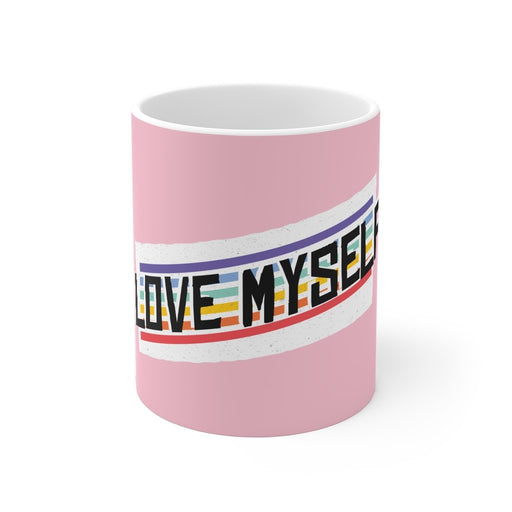 Rainbow Coffee Mug | Rainbow Coffee Mug - Love Myself | sumoearth 🌎