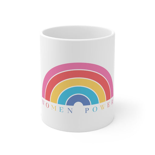 Rainbow Coffee Mug | Rainbow Coffee Mug - Women Power | sumoearth 🌎