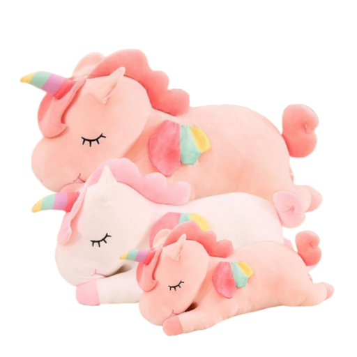 Unicorn Plush | Rosy the Giant Unicorn Stuffed Animal Soft Plush Toy | sumoearth 🌎
