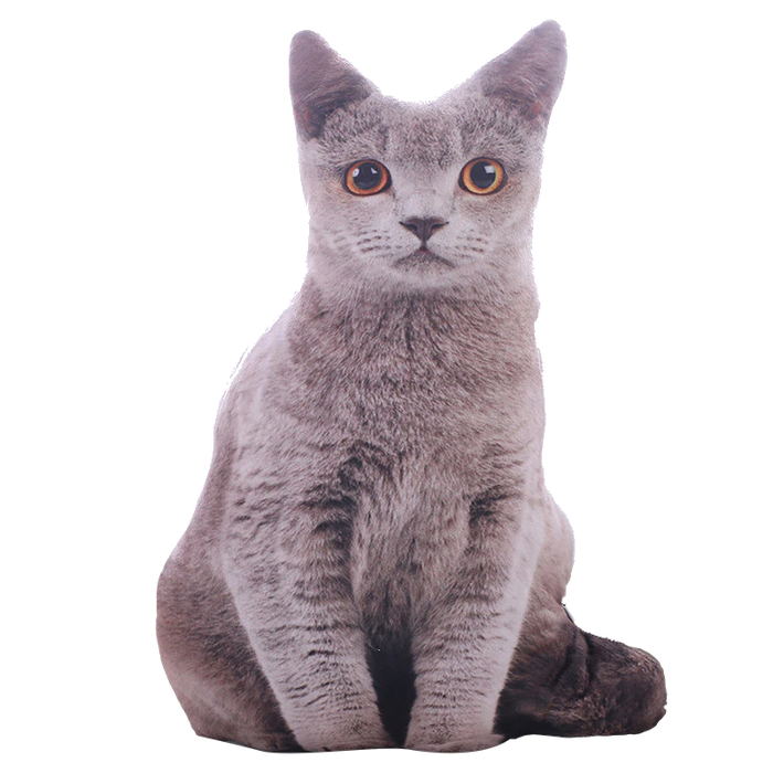 Cat Plush | Realistic Stuffed Cat Plush Toy | Bengal, Russian Blue, Siamese, Tabby | sumoearth 🌎