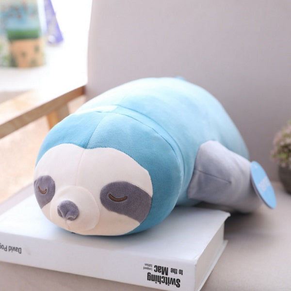 Sloth Plush | Sid the Sleepy Sloth Plush Pillow Soft Toy | sumoearth 🌎