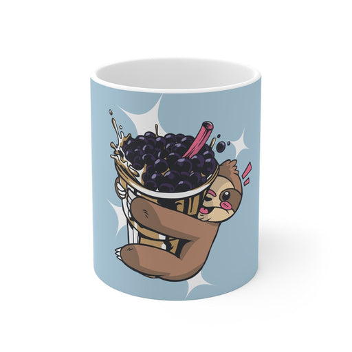 Sloth Coffee Mug | Sloth Coffee Mug - Bubble Tea | sumoearth 🌎