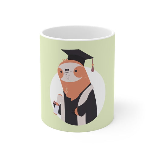 Sloth Coffee Mug | Sloth Coffee Mug - Graduation | sumoearth 🌎