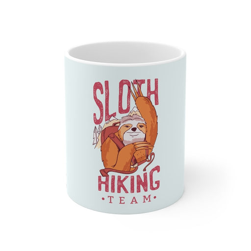 Sloth Coffee Mug | Sloth Coffee Mug - Hiking Team | sumoearth 🌎