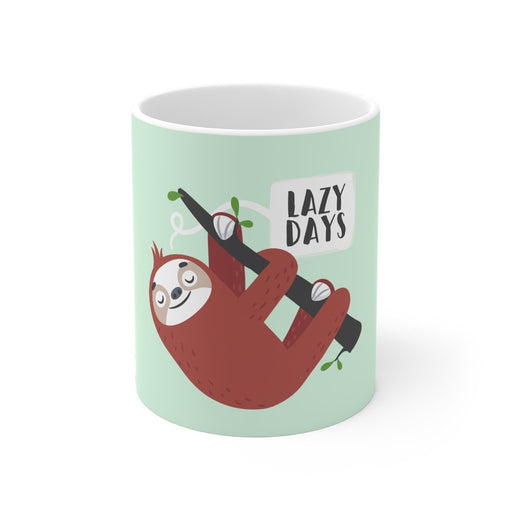 Sloth Coffee Mug | Sloth Coffee Mug - Lazy Days | sumoearth 🌎