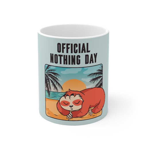 Sloth Coffee Mug | Sloth Coffee Mug - Official Nothing Day | sumoearth 🌎