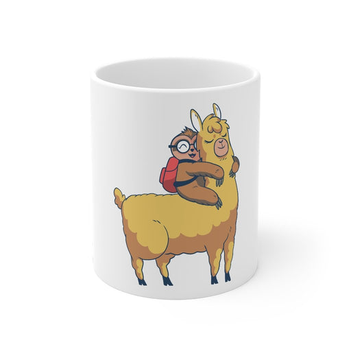 Sloth Coffee Mug | Sloth Coffee Mug - Pet Llama | sumoearth 🌎