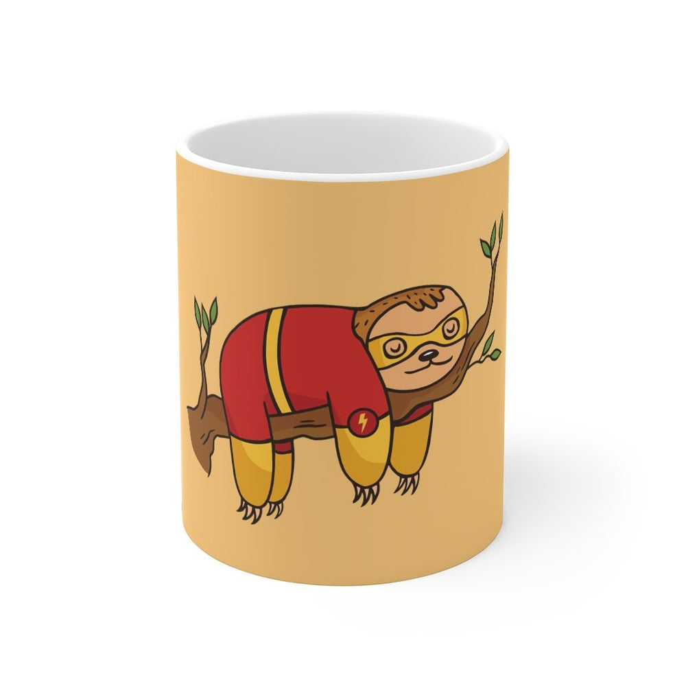 Sloth Coffee Mug | Sloth Coffee Mug - Sleepy the Hero | sumoearth 🌎
