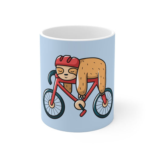 Sloth Coffee Mug | Sloth Coffee Mug - Sloth On A Bike | sumoearth 🌎