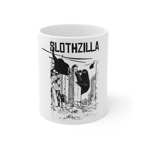 Sloth Coffee Mug | Sloth Coffee Mug - Slothzilla | sumoearth 🌎