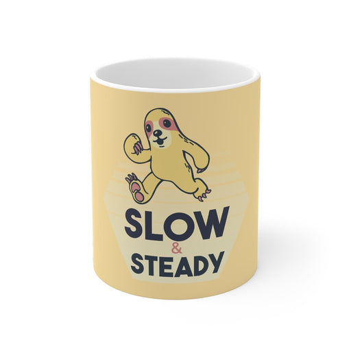 Sloth Coffee Mug | Sloth Coffee Mug - Slow & Steady | sumoearth 🌎