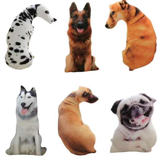 Dog Plush | Realistic Stuffed Dog Plush Toy | Dalmatian, German Shepherd, Greyhound, Husky, Pug, Ridgeback | sumoearth 🌎