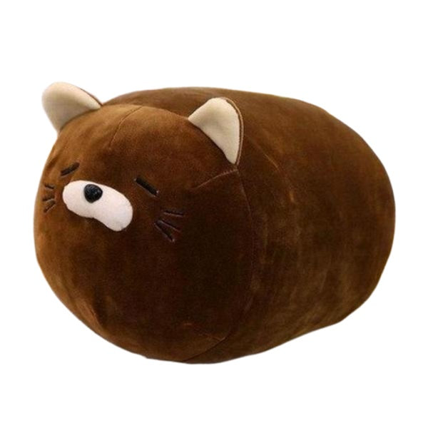 Cat Plush Pillow | Tubby the Fat Cat Plush Pillow | Cat Plush Toy | sumoearth 🌎