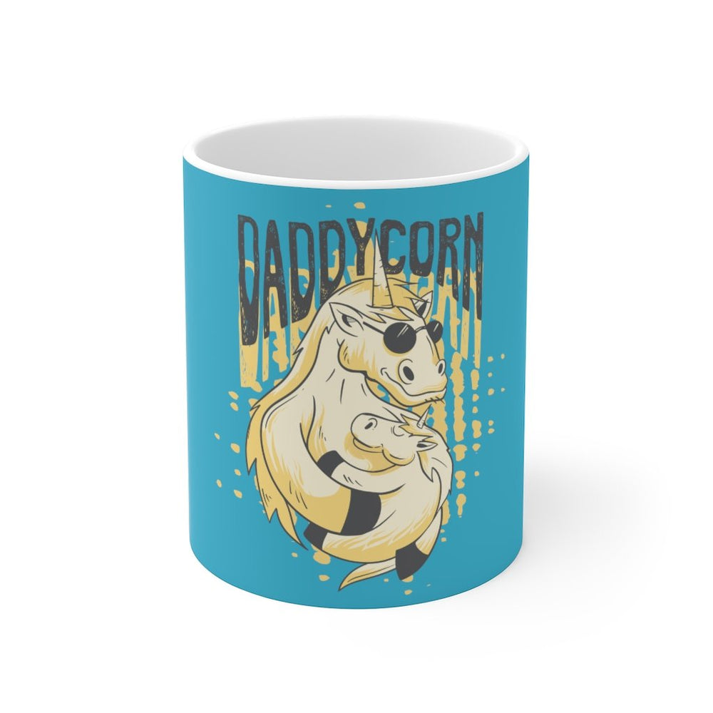 Unicorn Coffee Mug | Unicorn Coffee Mug - Daddycorn | sumoearth 🌎