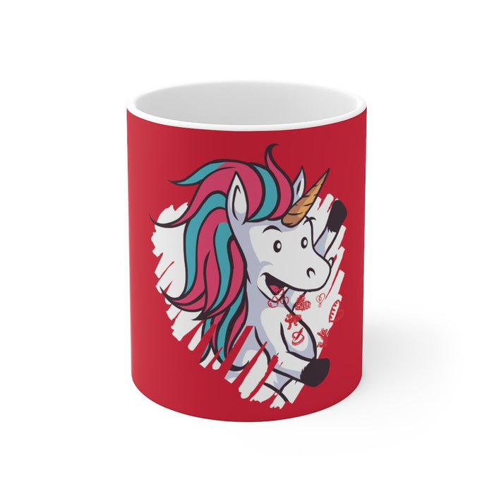 Unicorn Coffee Mug | Unicorn Coffee Mug - The Heart Of A Unicorn | sumoearth 🌎