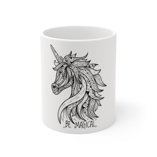 Unicorn Coffee Mug | Unicorn Coffee Mug - Unicorn Mandala | sumoearth 🌎